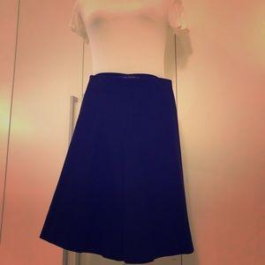 Dresses & Skirts - Felt A line skirt -Zara. Goes with everything!
